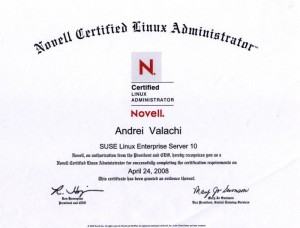 Novel Certified Linux Professional - SLES 10