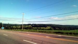 De pe autostrada 2