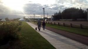 Summerside - trotuar de lemn