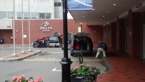 Hotelul Delta Beausejour, Moncton, NB.