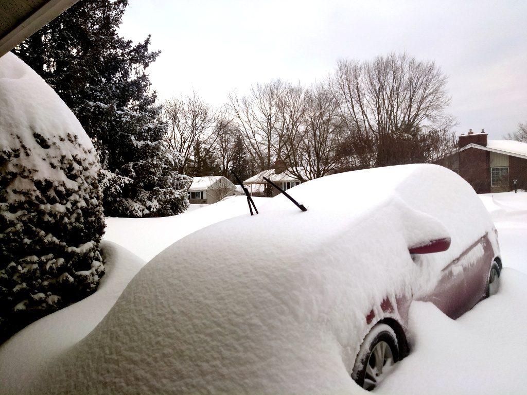 Cădere de zăpadă neobișnuită în Ottawa.